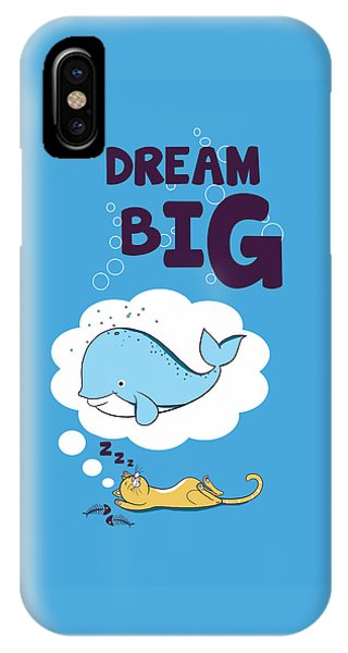Whales iPhone Case - Dream Big by Neelanjana  Bandyopadhyay