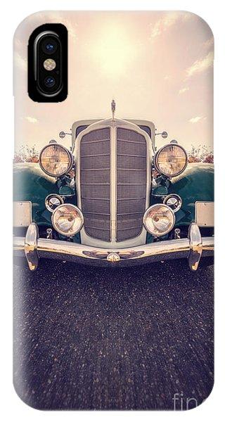 Movement iPhone Case - Dream Car by Edward Fielding
