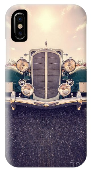 Car iPhone X Case - Dream Car by Edward Fielding