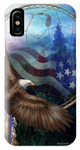 Dream Catcher - Freedom's Flight IPhone Case