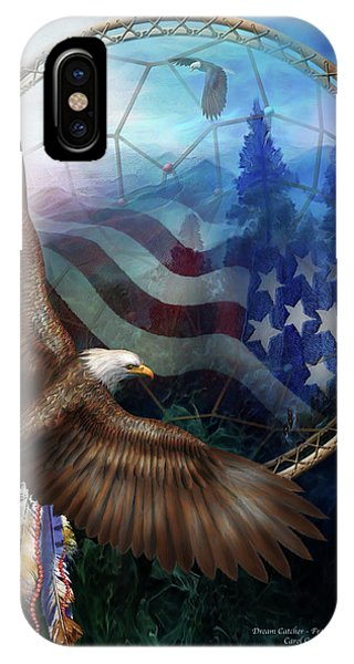Dream Catcher - Freedom's Flight IPhone Case