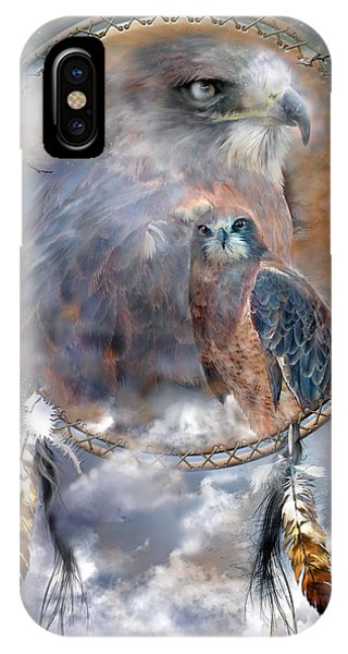 Dream Catcher - Hawk Spirit IPhone Case