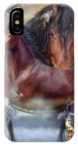 Dream Catcher - Spirit Horse IPhone Case