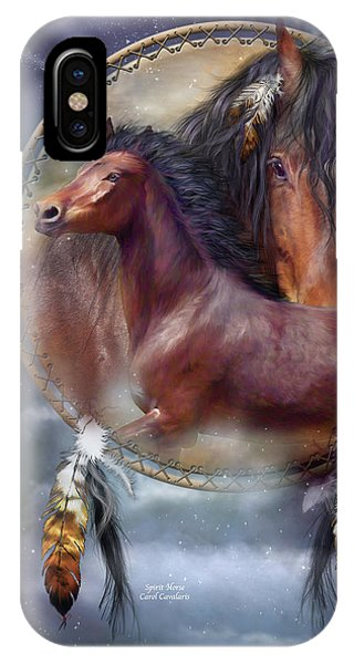 Dream Catcher - Spirit Horse IPhone Case