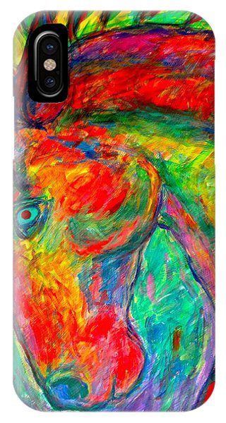 IPhone Case featuring the painting Dream Horse by Kendall Kessler