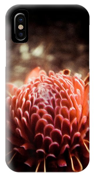 Dream In Bloom - Orange  IPhone Case