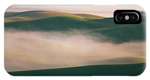 Mist iPhone Case - Dream Land In Morning Mist-2 by ??? / Austin