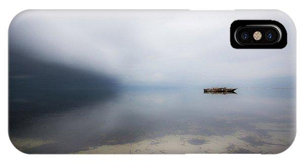 Boat iPhone Case - Dreaming In A Dream by Georgiana Mazilu