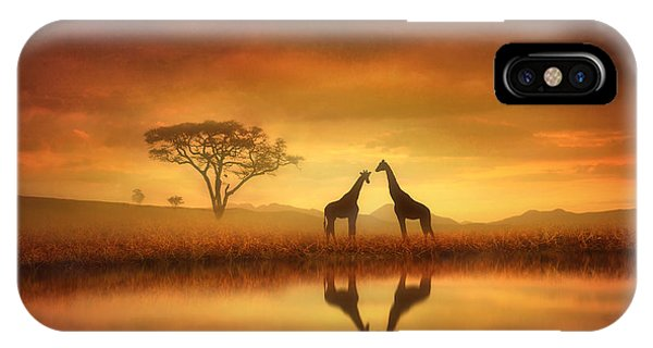 Dreaming Of Africa IPhone Case