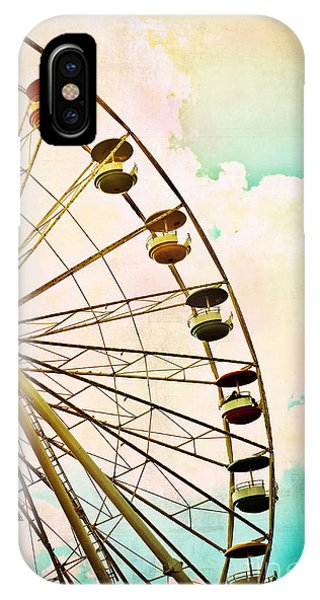 Dreaming Of Summer - Ferris Wheel IPhone Case