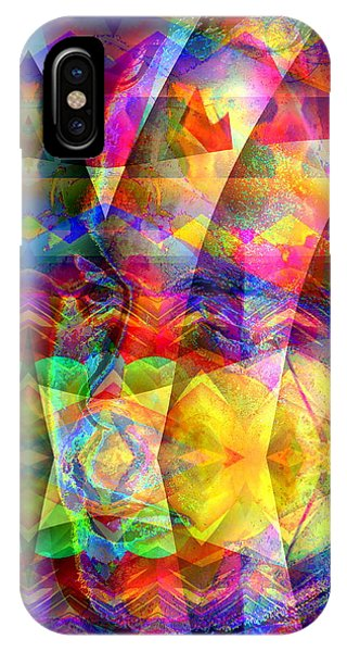 IPhone Case featuring the digital art Dreaming by Visual Artist Frank Bonilla