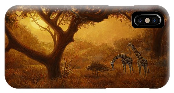 Africa iPhone X Case - Dreamland by Lucie Bilodeau
