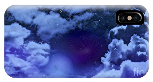 Dreamy Night Phone Case by Sheikh Designs