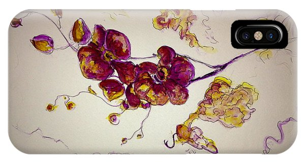 Dreamy Orchid IPhone Case
