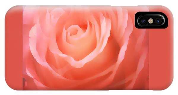 Dreamy Pink Rose IPhone Case