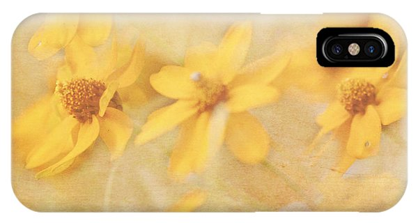 Dreamy Yellow Coreopsis IPhone Case