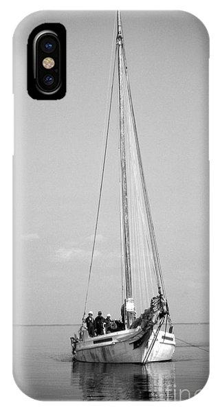 Skipjack iPhone Case - Dredger by Skip Willits