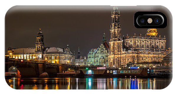 Dresden By Night IPhone Case