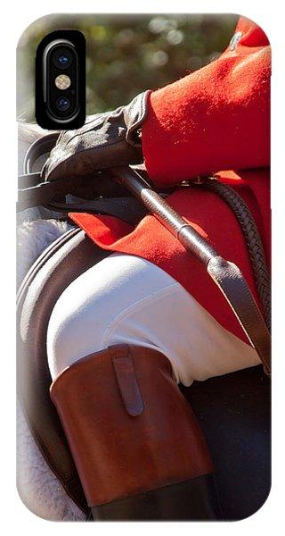 Dressed Rider IPhone Case