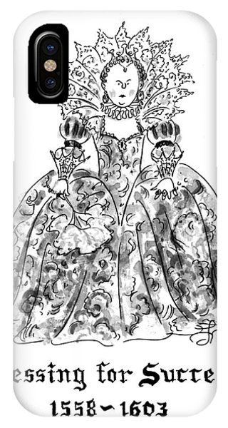 Dressing For Success 1558-1603 IPhone Case