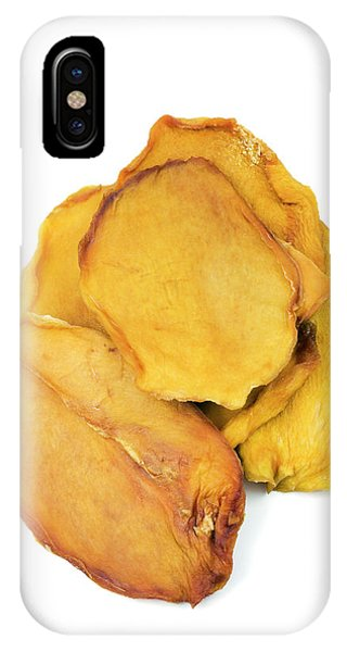 Mango iPhone Case - Dried Mango Slices by Geoff Kidd/science Photo Library