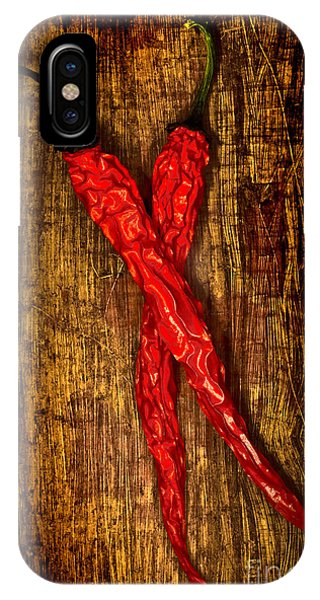 Dried Pepperoni Phone Case by Shawn Hempel