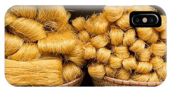 Dried Rice Noodles 02 IPhone Case