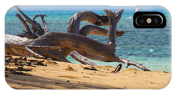 IPhone Case featuring the photograph Drift Wood by Debbie Cundy