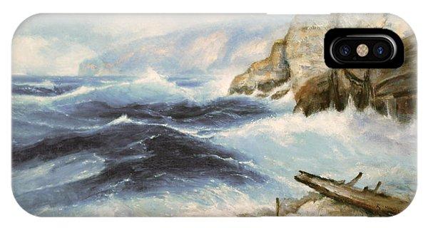 Driftwood Cliffs IPhone Case
