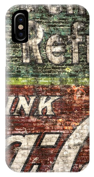 Old Building iPhone Case - Drink Coca-cola 1 by Scott Norris