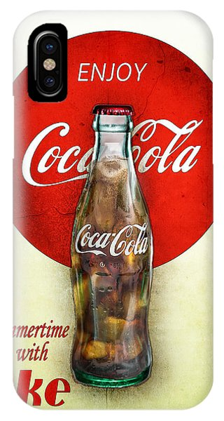 Drink Ice Cold Coke 2 IPhone Case