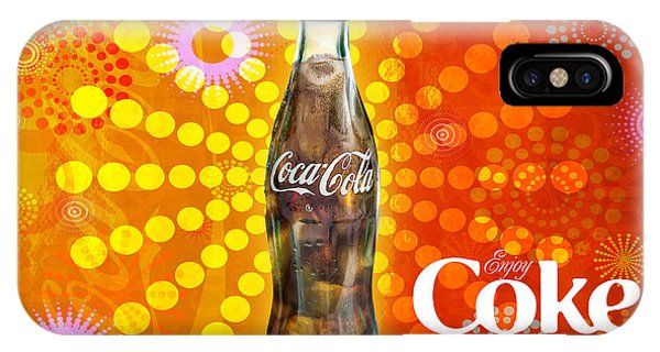 Drink Ice Cold Coke 4 IPhone Case