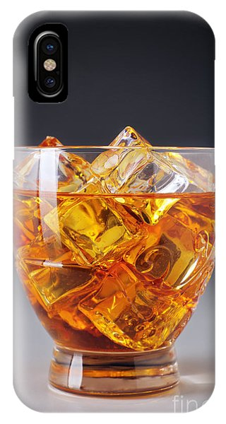 Amber iPhone Case - Drink On Ice by Carlos Caetano