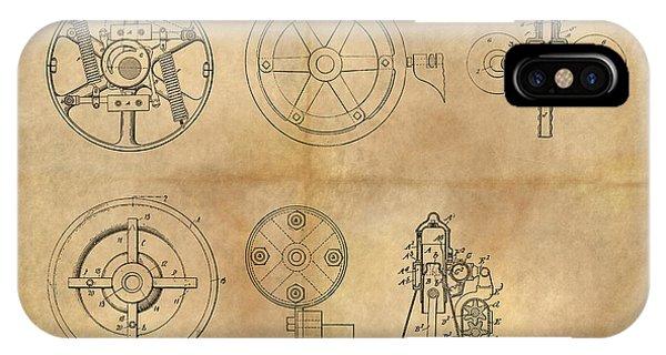 Drive Mechanism IPhone Case