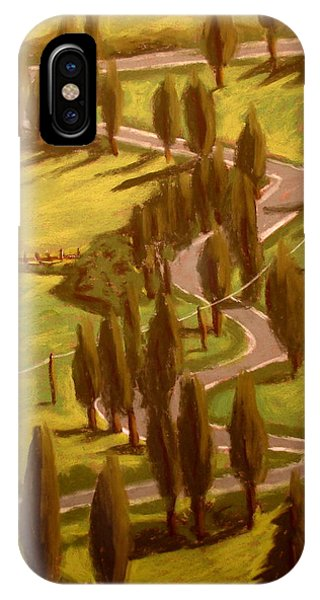 Drive Through Italy IPhone Case