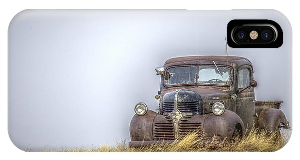 A Rusty Abandoned Truck Near Sturgis South Dakota IPhone Case