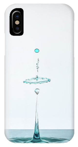 Water Droplets iPhone Case - Drop by Adamo Prieto