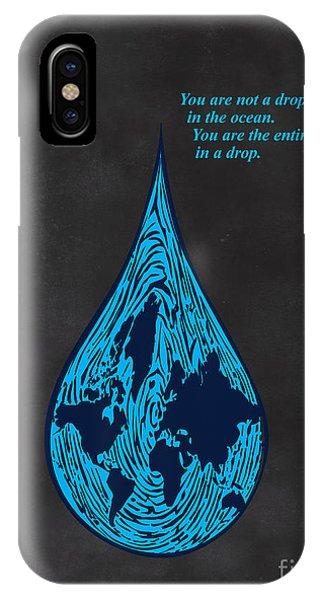 Drop In The Ocean IPhone Case