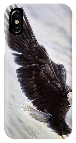 In Flight iPhone Case - Dropping In by Gregory Perillo
