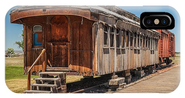 Drover And Cattle Cars IPhone Case