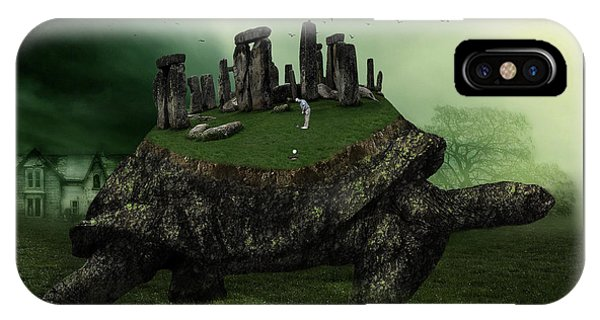 Druid Golf IPhone Case
