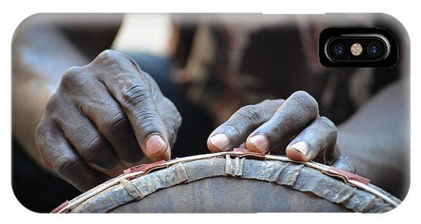 Drum Maker's Hands I IPhone Case