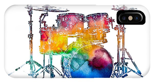Drum Set IPhone Case