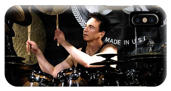 Frank Zappa iPhone Case - Drummer Terry Bozzio by Concert Photos