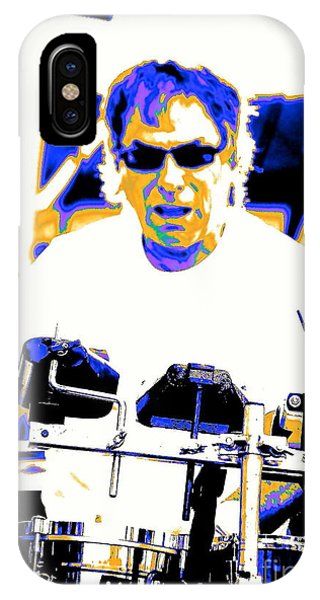 Drumming On The Edge Of Magic IPhone Case