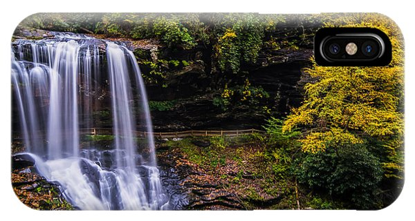 Dry Falls Along The Cullasaja River IPhone Case
