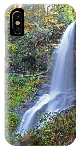 Dry Falls In Highlands Nc Phone Case by Mary Anne Baker