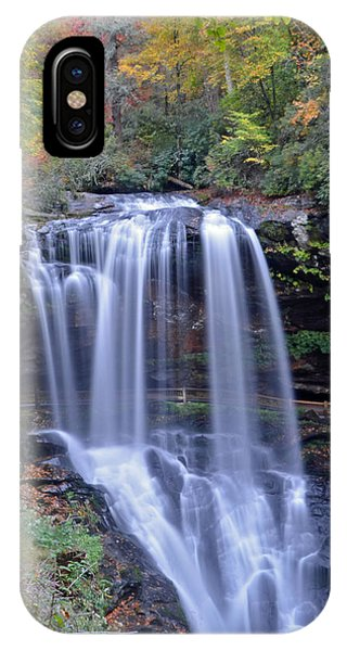 Dry Falls In Highlands North Carolina Phone Case by Mary Anne Baker