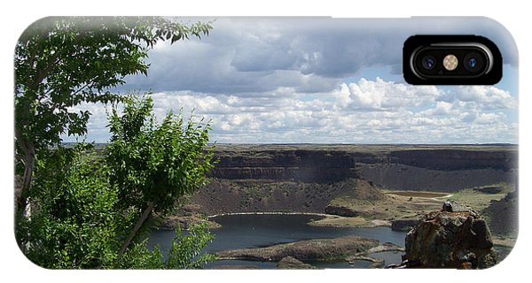 Dry Falls Overlook IPhone Case