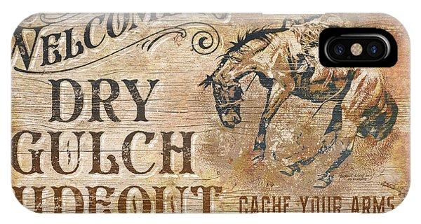 Dry Gulch Hideout IPhone Case